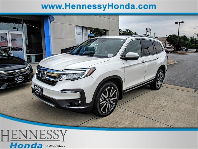 New 2019 Honda Pilot Touring 7P 2WD SUV for sale in Woodstock, GA at Hennessy Honda