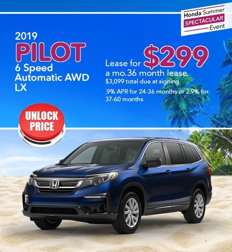 8-8 2019 Honda Pilot