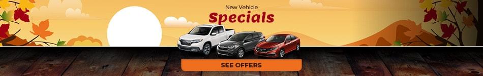 New Vehicle Specials 10/4/2019