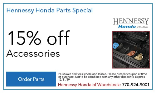 Hennessy Honda Parts Special 7/1/2019