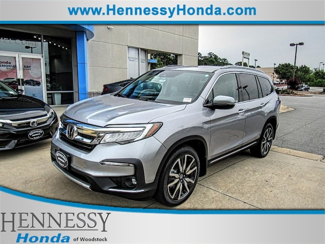 New 2019 Honda Pilot Elite 4WD SUV for sale in Woodstock, GA at Hennessy Honda