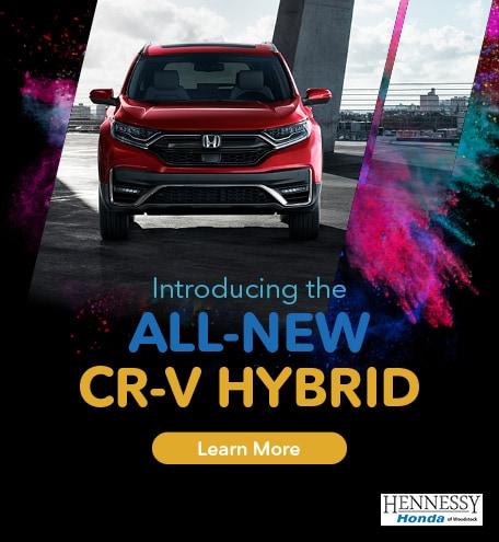 New CR-V Hybrid