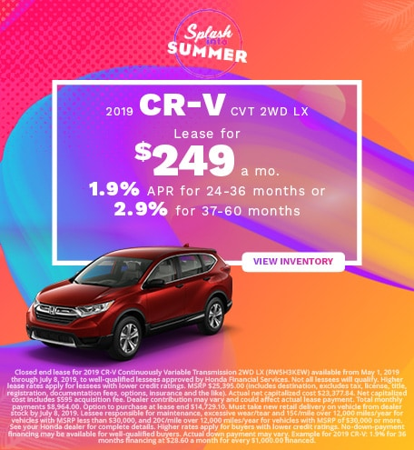 New 2019 Honda CR-V 6/6/2019