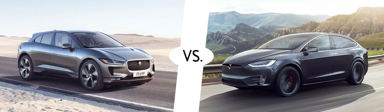 Captivating 2018 JAGUAR I PACE VS. 2018 TESLA MODEL X