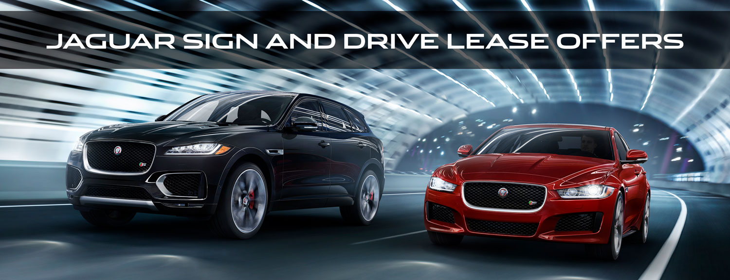 Jaguar Sign And Drive Offers