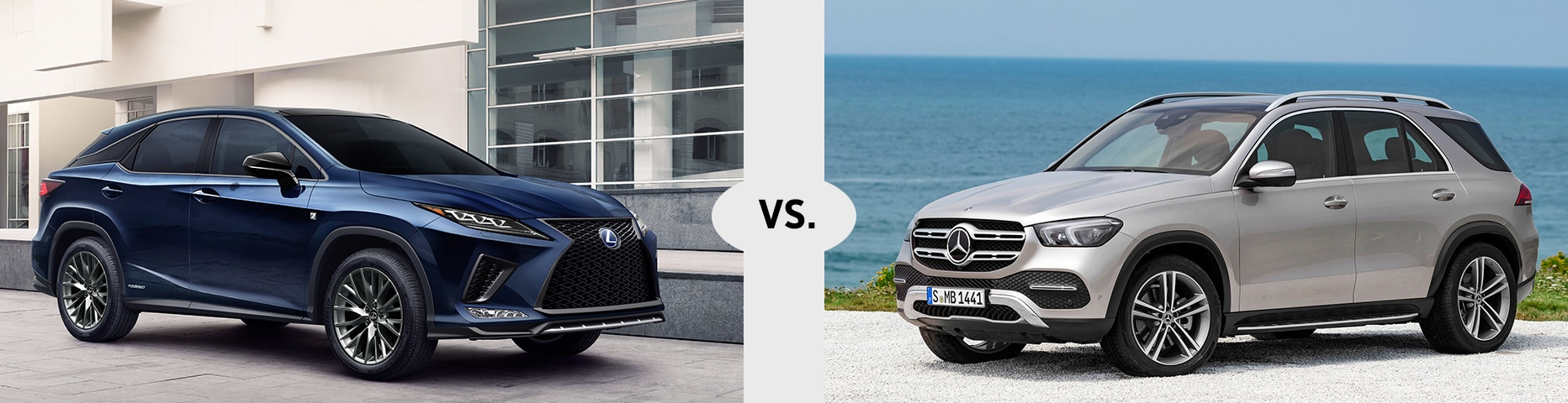 Lexus RX 350 vs. Mercedes-Benz GLE