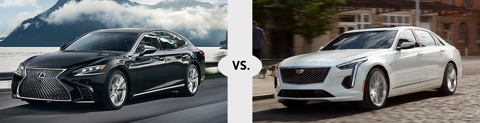 Lexus LS vs Cadillac CT6