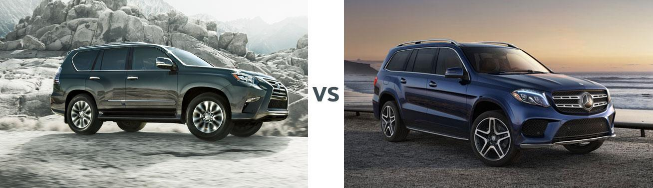 Lexus GX vs Mercedes GLS