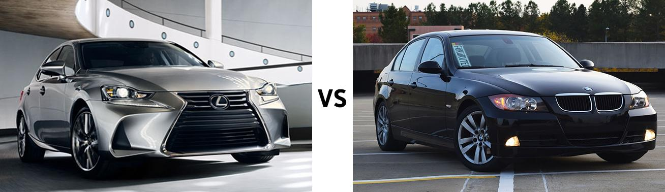 Lexus IS vs BMW 325