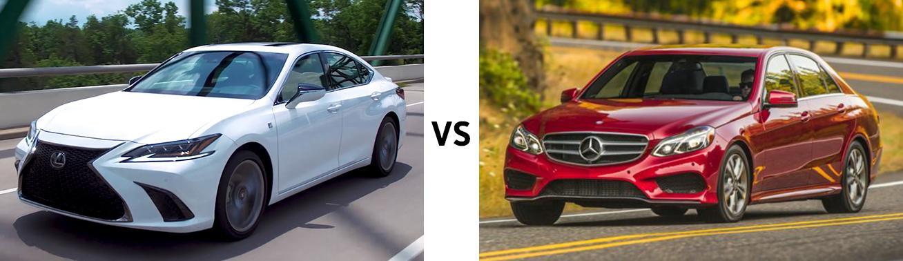 Lexus ES vs Mercedes E 350