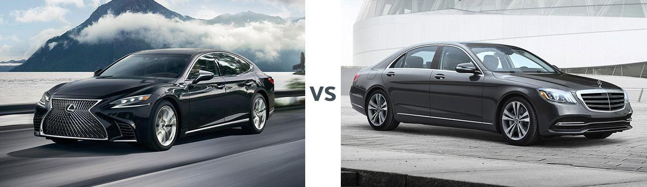 Lexus LS vs Mercedes S