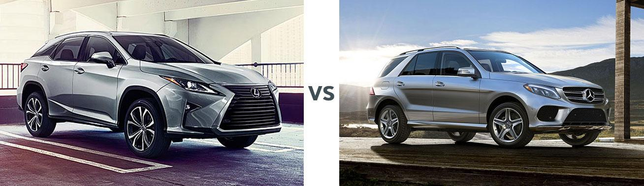 Lexus RX vs Mercedes GLE