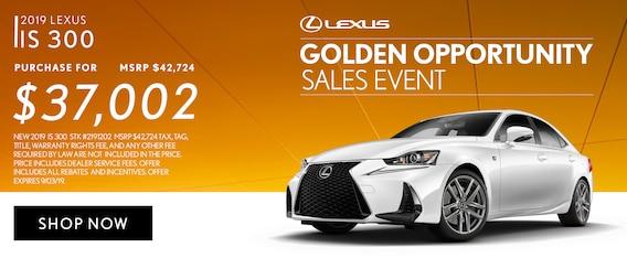Lexus Dealers In Nc >> Lexus Golden Opportunity Sales Event 2019 In Atlanta Georgia