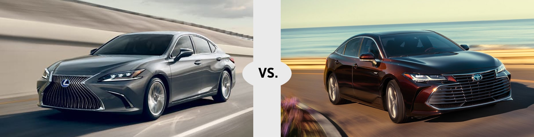 2020 Lexus ES vs. 2019 Toyota Avalon