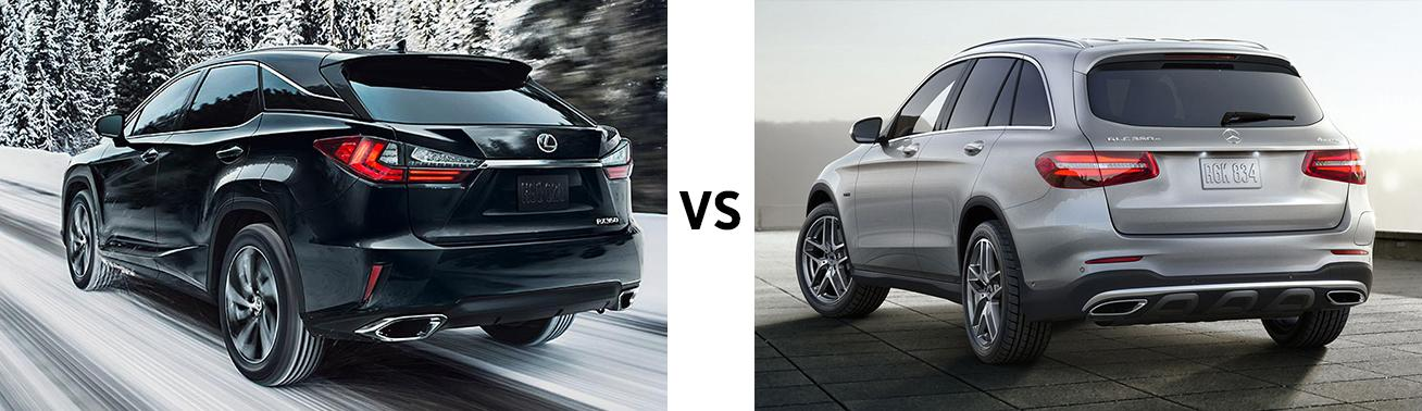 Lexus RX vs Mercedes GLC