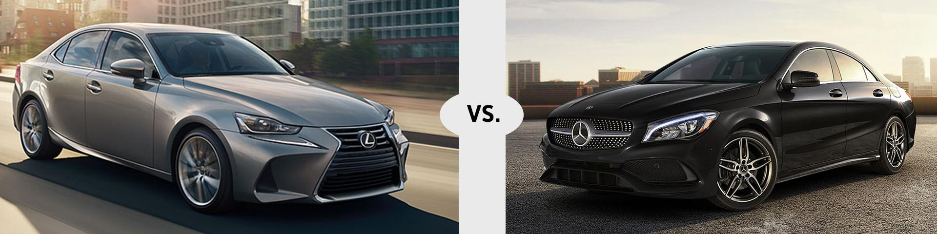 Lexus IS vs Mercedes CLA