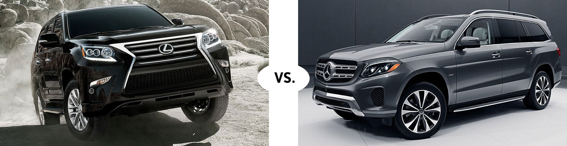 2019 LEXUS GX 460 VS. 2019 MERCEDES BENZ GLS 450