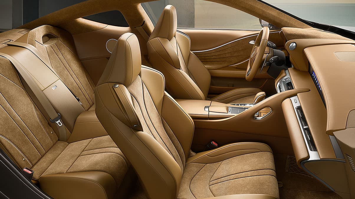 Lexus Sports Cars - LC Interior