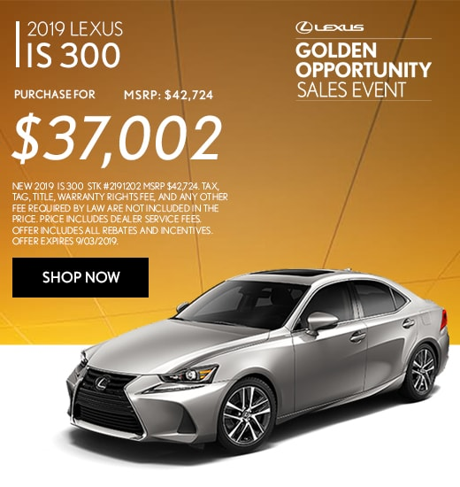 Lexus Golden Opportunity Sales Event 2019 In Duluth Georgia