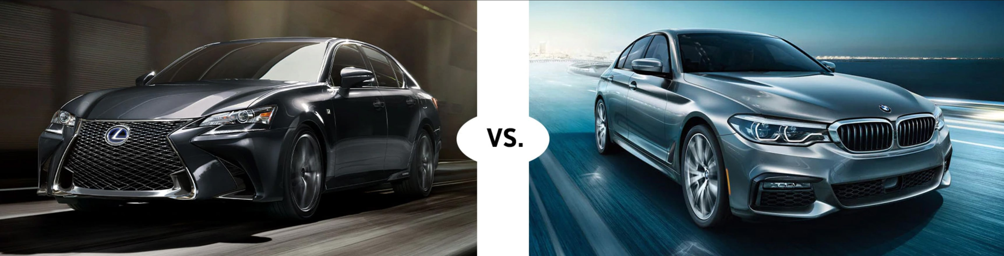 2019 LEXUS GS 350 VS. 2019 BMW 5 SERIES