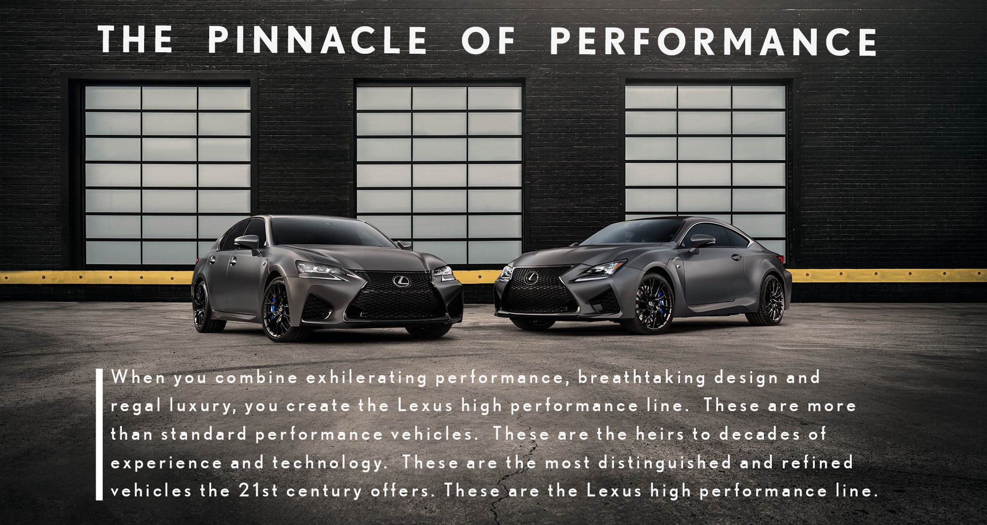 Lexus Sports Cars