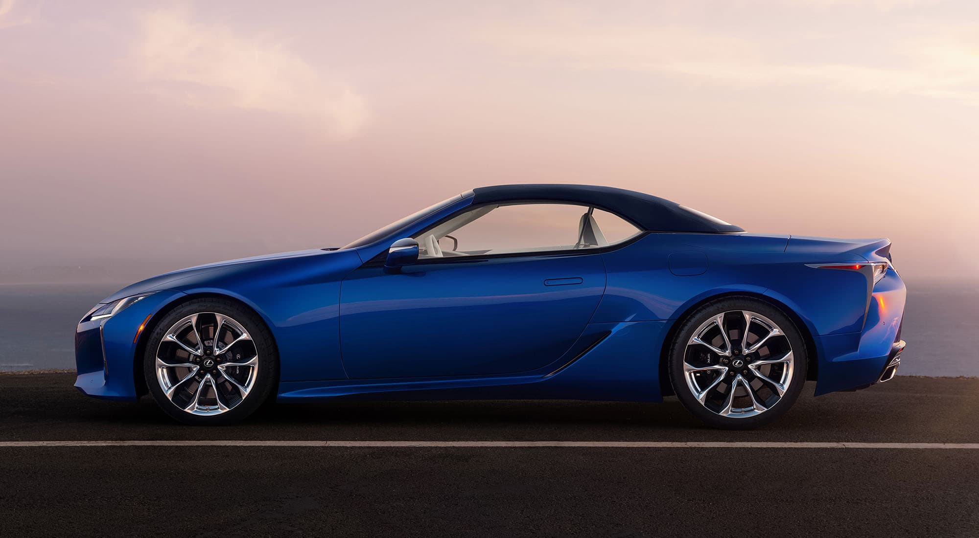 2020 Lexus LC 500 Convertible Profile
