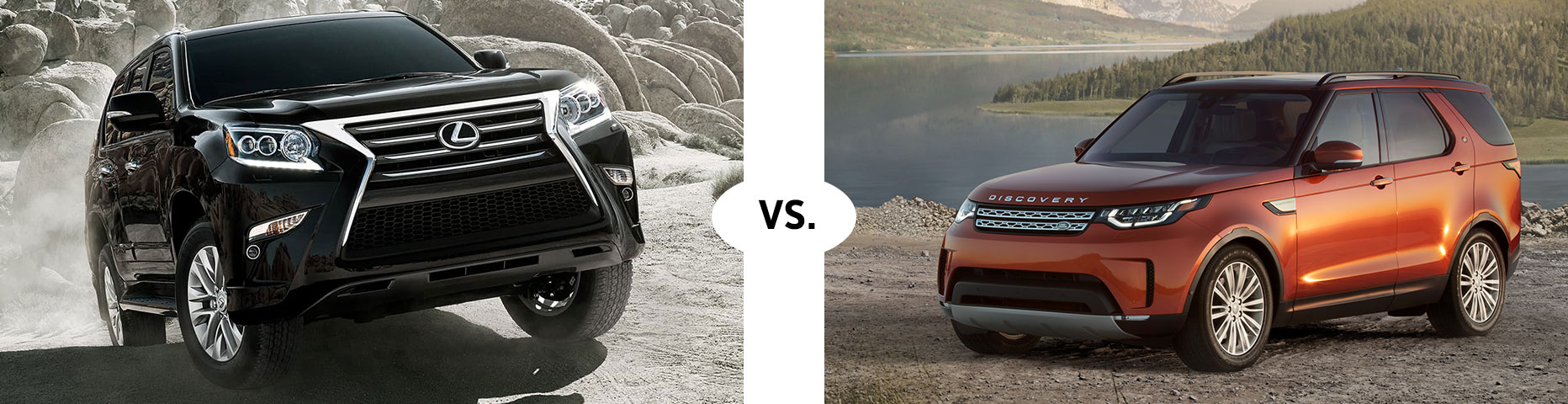 2019 LEXUS GX 460 VS. 2019 LAND ROVER DISCOVERY