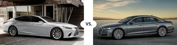 Lexus Vs Audi >> Lexus Vs Audi Comparison Hennessy Lexus Gwinnett