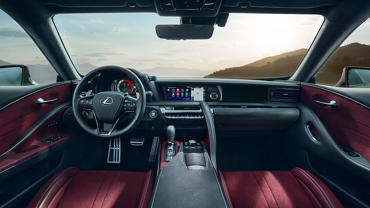 Lexus Sports Cars - LC Cockpit