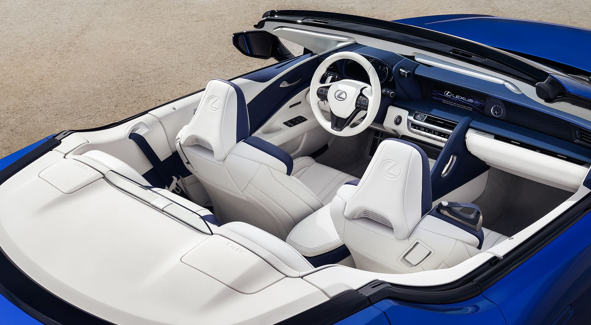 2020 Lexus LC 500 Convertible Interior