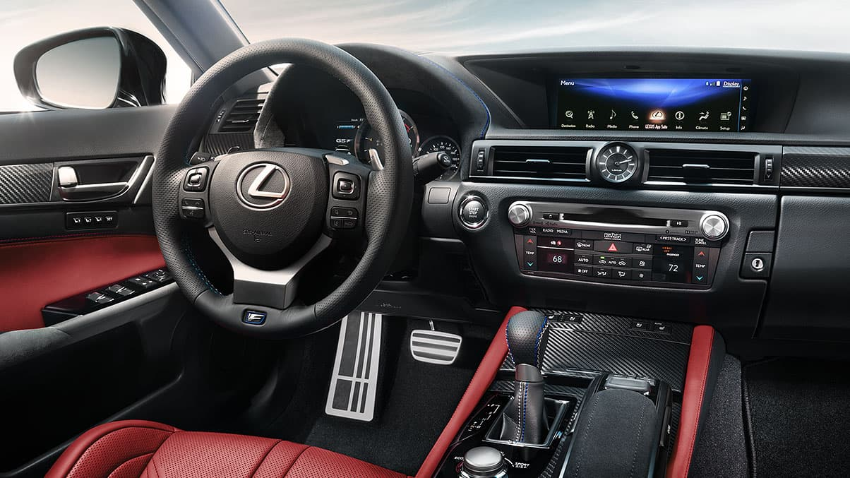 Lexus Sports Cars - GS Interior