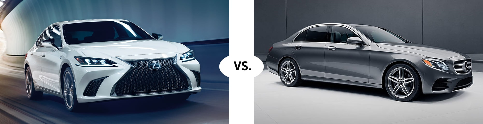 2019 LEXUS ES 350 VS. 2019 MERCEDES BENZ E 300