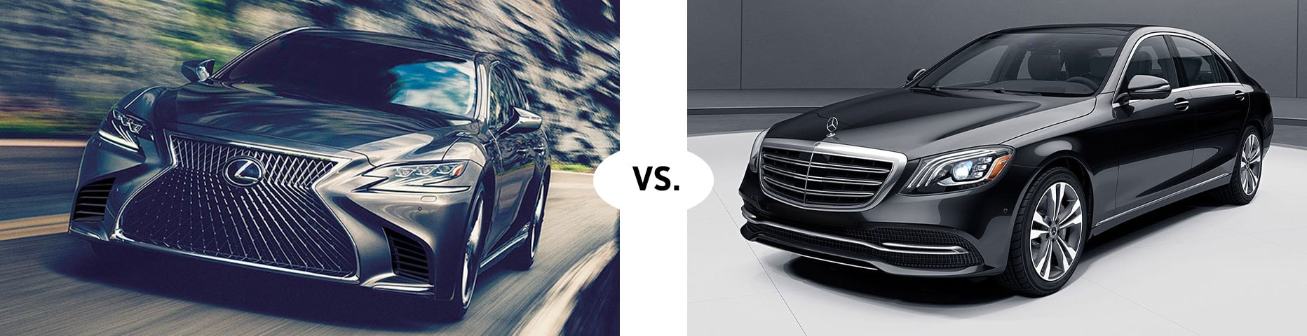 2019 LEXUS LS 500 VS. MERCEDES BENZ S 450