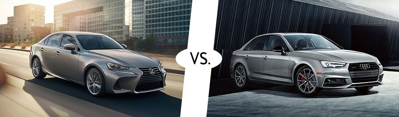2018 Lexus IS 300 vs 2018 Audi A4