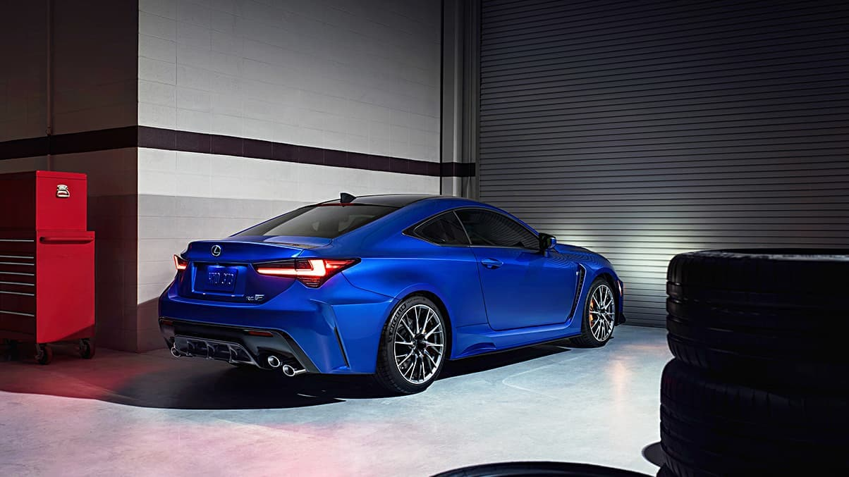 Lexus Sports Cars - RC Rear