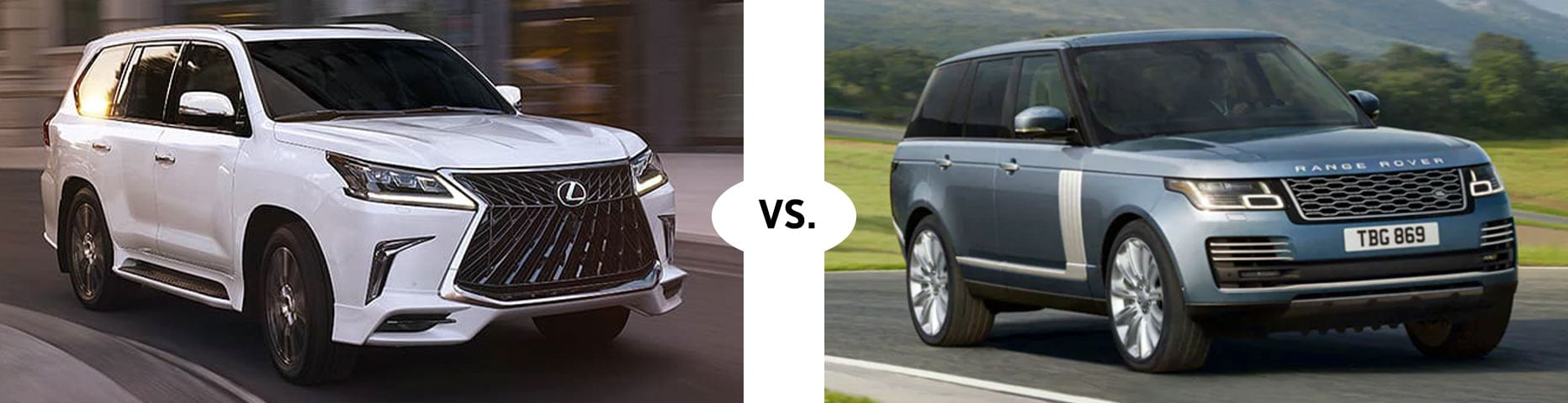 Range Rover Gwinnett >> Lexus vs. Land Rover Comparison | Hennessy Lexus Gwinnett