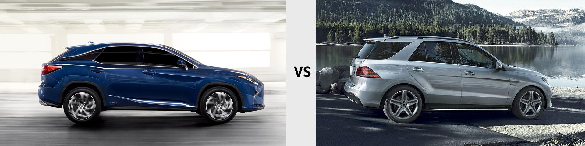 2019 Lexus RX vs 2019 Mercedes Benz GLE