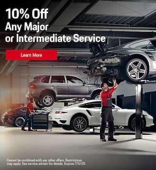 10% Off Any Major or Intermediate Service