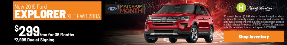 2019 Ford Explorer - March