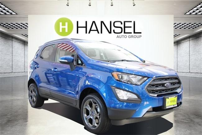 New 2018 Ford EcoSport SES SUV For sale/lease Petaluma, CA