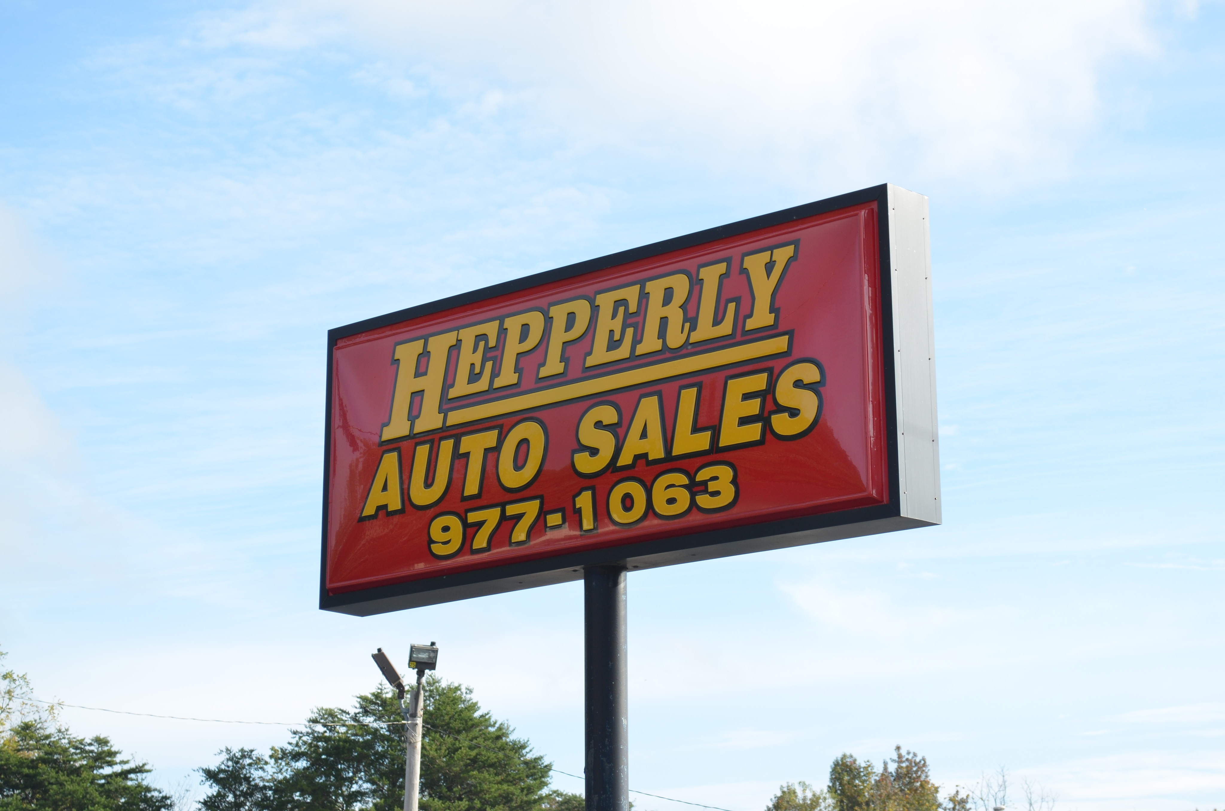 About hepperly auto sales maryville tn