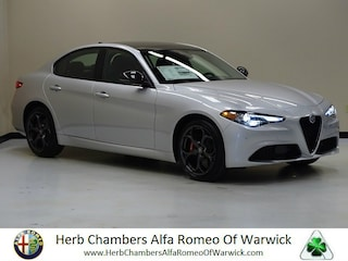 New 2019 Alfa Romeo Giulia AWD Sedan in Boston, MA