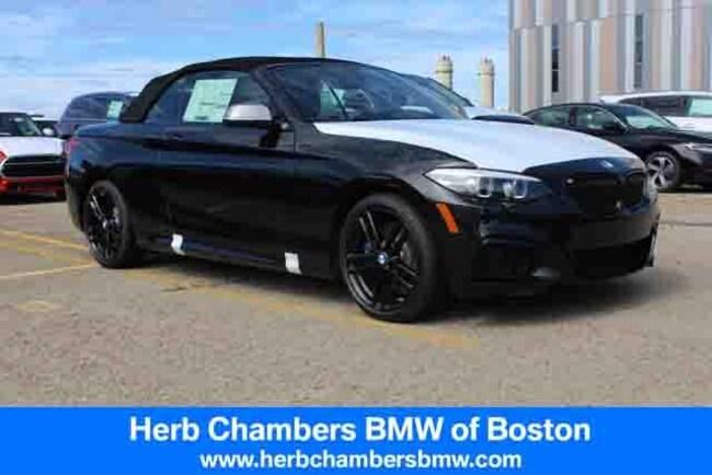 New 2018 BMW M240i xDrive Convertible in Boston