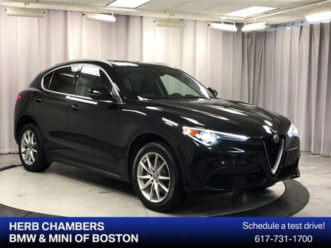Used 2018 Alfa Romeo Stelvio Ti SUV for sale in Somerville near Boston MA