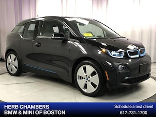 Certified Pre-Owned 2015 BMW i3 with Range Extender Hatchback Sudbury, MA
