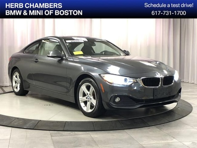Pre-Owned 2014 BMW 428i xDrive AWD Coupe for sale in Boston MA