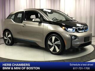 Pre-Owned 2014 BMW i3 w/ Range Extender Sedan in Boston MA