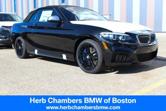 New 2019 BMW M240i xDrive Convertible in Boston