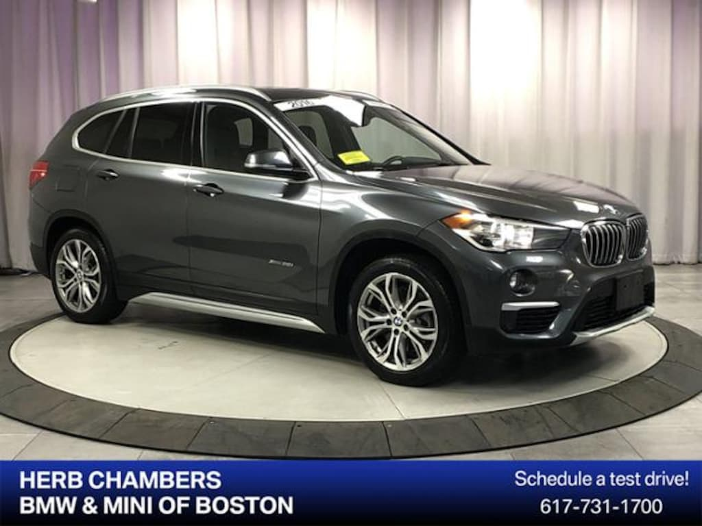 Used 2016 BMW X1 For Sale at Herb Chambers Volvo Cars Norwood | VIN:  WBXHT3C3XG5E50582