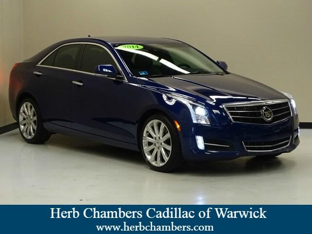 Used Featured 2014 CADILLAC ATS Premium AWD Sedan for sale in Warwick RI